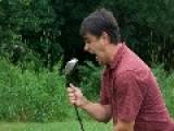 Golf Course Prank - Terrorizing Golfers On A Golf Course - Air Horn Prank