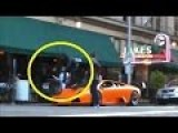 Man Rides Bike Over A Lamborghini Murcielago | Guy Jumps Over Lamborghini With His Bike