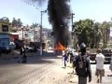 + 1 Bus Burned In Sao Paulo City, Brazil
