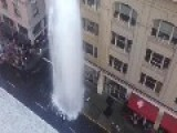 Fire Hydrant Rupture In San Francisco