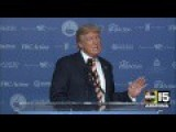 Trump Good Funny Speech At DC Voter Summit