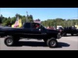 'Make America Great Again' Convoy Full Of Trump Supporters