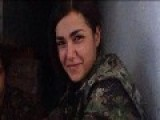 Kurdish Marxist-Leninist Gunwoman Ceylan Ozalp Smiles For The Camera.....before Her Death Today Sept 29th, '14