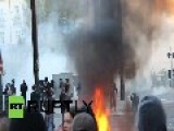 France: Nantes On Fire As Clashes Erupt At Anti-brutality Demo