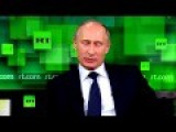 Vladimir Putin On NSA Leak Greek Subs