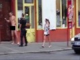 Naked Guy Vs Police