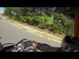 Police Chase Dirt Bike