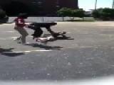 *** COP ASSAULTED *** Lee High School Montgomery, AL Fight 8 26 14