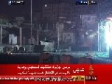 7 Minustes Footage Of Confrontations Between The Israeli Occupation Forces And The Gaza Strip