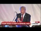 Donald Trump Calls Anthony Weiner A Perv