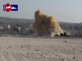 Syrian Air Force Targets Terrorist Positions In Maarrat Al-Nu'man HD