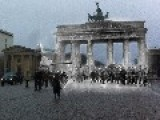 Berlin--Then And Now--The Brandenburg Gate 1945--2014