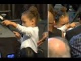 I'm Watching You! Riley Curry Steals The Show At MVP Awards