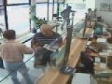 CCTV: Bank And Jewelry Robbery In Belgrade, Serbia