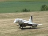 RC Concorde Powered By Two Turbines - Painted In The Colours Of British Airways - Raw Video Hd - Vedat şafak