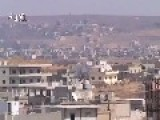 #2 Genocidal Syria Dictator Bombs Al Houleh Town 8-30-13 Obama Must Bomb Assad Now