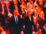 Australian PM Tony Abbot Booed At Memorial Service