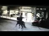 'Outlaw' Hilariously Fails To Rob Store With His Trusty Steed