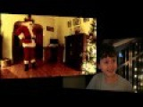 Santa Claus Caught On Camera
