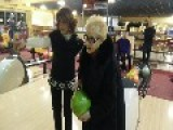 84-Year-Old Grandmother Hits The Perfect Strike