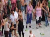 Brawl - Fight At Robbie Williams Concert