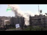 Hell Canon Attack By FSA On Assadists On Sakhour Front Area