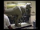 Sculpting A Full-Size Tyrannosaurus For Jurassic Park Film