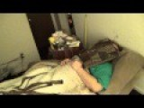 Sleeping Fat Guy Prank'd , No Pizza For You