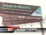 USA : Billboards Proclaiming 'Jesus Is Muslim' Getting People Upset