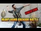 Kurds Attacking Friends Of ISIS - Hand Grenade Battle