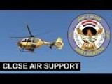 Eurocopter EC 635 And Bell 407 Helicopter Striking ISIS Targets!