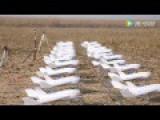 Urban Testing UAV Swarm Intelligence