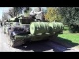 Stunning Beautiful Green Camouflage Tank M84 T-72 Close Look