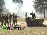 Russia: Fearsome Robot Rolls Into Missile Defense Arsenal