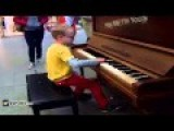 8 YEAR OLD TEACHES HIMSELF CHOPIN WITH YOU TUBE VIDS