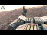 FSA Southern Front Sized A Lot Of Ammunition After They Captured Tel Ahmar In Quneitra
