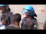 Italy: Africans Storm French Boarders