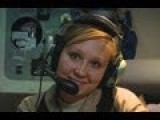 Interview With A Sexy Female Loadmaster. USAF C-17 Globemaster III