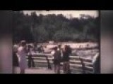 Incredible 1969 8mm Footage Of Niagara Falls Completely DRY