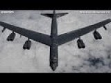 8x ENGINE BEAST B-52 STRATOFORTRESS HEAVY BOMBER Air-To-Air Refueling Footage