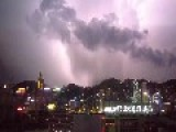 Over 10,000 Cloud-to-Ground Lightning Strikes Recorded In Hong Kong