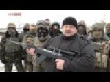 Former Ukrainian Azov Leader Mosiychuk Threatens Chechen President