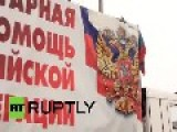 8th Russian Aid Convoy Brings Food To Donetsk