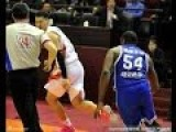 Chinese Player Runs For His Life After Cheap Shot On Jason Maxiell