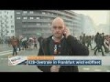 TV Reporter Struggles With Tear Gas During Live Interview