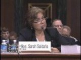 Sen. Cruz Questions ICE Dir. Sarah Saldaña On Obama Administration's Immigration Policy
