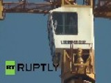 Germany: Mentally-ill Man Takes Crane With Toy Gun, Scares Central Berlin