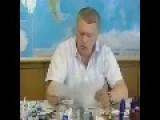 Zhirinovsky In Israel
