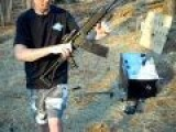 Saiga 12 Russian Semi Auto Shotgun VS Microwave