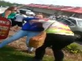 Bully Knocks Herself Out
